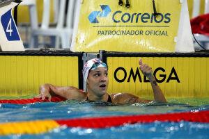 Joanna Maranhão faturou o ouro nos 200m medley