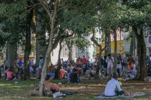 Dobrou o número de viciados de drogas na praça Princesa Isabel, no centro da capital paulista