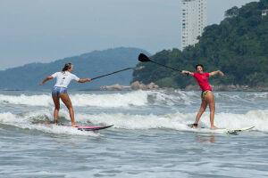 Festival acontece na Praia do Boqueirão, em Praia Grande