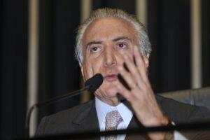 Defesa de Temer desiste de recurso no STF que pedia suspensão de inquérito
