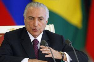 """Michel Temer pediu a eles que façam parte """"desse momento próspero"""" pelo qual passa o Brasil"""