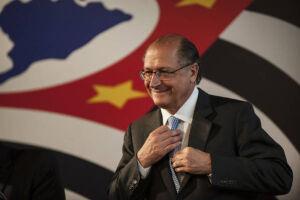 Geraldo Alckmin (PSDB-SP), defendeu a reforma política em evento que reuniu dirigentes do PSDB em Barueri neste sábado
