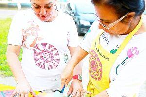 O projeto se inspira em Mônica Nador, artista plástica reconhecida internacionalmente, que faz de sua obra uma forma de ativismo social nos bairros da comunidade