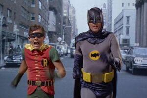 Cena do filme Batman, O Homem-Morcego, de 1966