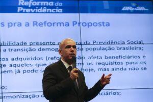 Para o secretário Marcelo Caetano, quem define a velocidade e o conteúdo da reforma da Previdência é o Congresso