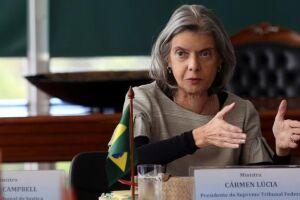Ministra Cármen Lúcia cobra de presidentes de tribunais de Justiça repasse correto da movimentação processual