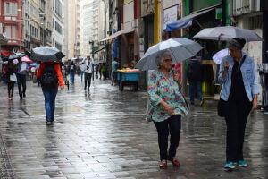 No total foram oito dias chuvosos, sendo a média de 8,4 dias