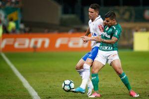 Dudu marcou duas vezes para o Palmeiras