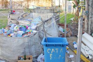 Um dos ecopontos de Mongaguá possui estrutura precária; Prefeitura afirma que seguirá determinações do futuro plano metropolitano de resíduos sólidos