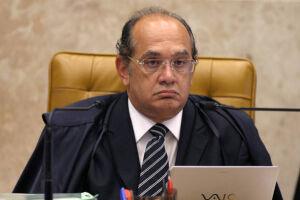 Avião estava com o ministro do Supremo Tribunal Federal (STF) e presidente do Tribunal Superior Eleitoral (TSE), Gilmar Mendes
