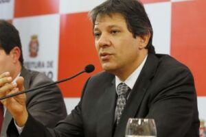 Fernando Haddad (PT) será intimado pela Corregedoria-Geral do Ministério Público do Estado de São Paulo
