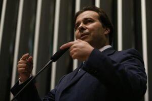 Rodrigo Maia rebateu as declarações do presidente da Ordem dos Advogados do Brasil (OAB), Carlos Lamachia