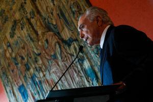 """Michel Temer diz que está disposto a """"dialogar"""" com o Congresso"""
