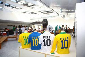 Museu Pelé fecha no vermelho desde inauguração