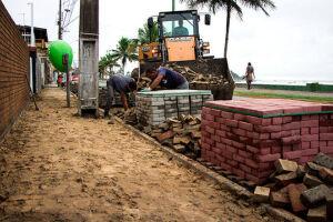 A prática esportiva é priorizada nas obras da Avenida Vicente de Carvalho, na Praia dos Sonhos, que terá uma ciclovia