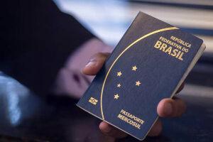 O governo arrecadou no ano passado R$ 578 milhões com a emissão de passaportes
