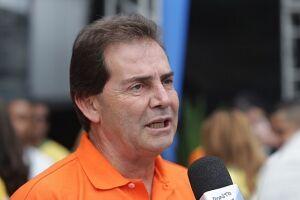 Sindicalista Paulo Pereira da Silva participou ontem da abertura do 8º Congresso da Força Sindical, em PG