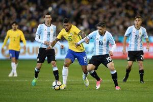 Sob nova direção, a Argentina mostrou bastante ímpeto na partida de hoje, embora tenha sido apenas um amistoso