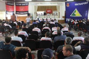 Sindicalistas de portuários e trabalhadores avulsos de todo País estiveram ontem no Sindaport, para lançamento da nova federação