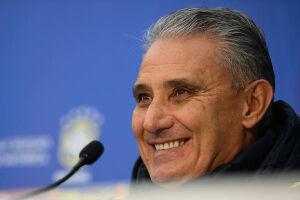 Tite viu Sampaoli corajoso ao ter assumido seleção argentina em crise