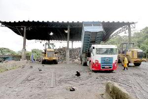 Transbordo foi apontado por Alberto Mourão como a solução para a construção de usinas. Segundo ele, são necessários 15 mil m² para instalar uma estação de tratamento
