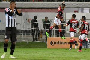 Éverton abriu o placar para o Flamengo