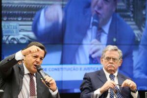 O governo derrotou na CCJ o parecer favorável à denúncia contra o presidente Michel Temer