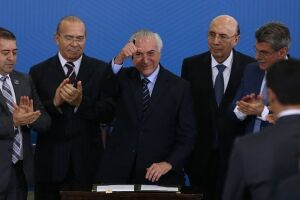 Michel Temer sancionou o projeto de lei da reforma trabalhista