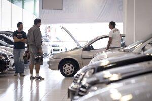 O setor de distribuição de veículos registrou retração de 3% nas vendas em junho