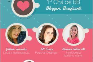 Blogueiras organizam 1º Chá de BB Beneficente em Santos