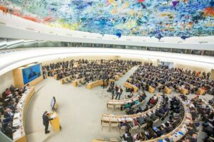 Reunião do Conselho de Direitos Humanos das Nações Unidas