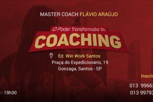 Palestra será ministrada pelo Coach Integral Sistêmico Flávio Araújo