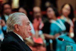 Temer pede apoio ao PSB para reforma tributária e agradece votos na CCJ