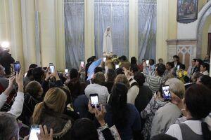 A peregrinação percorre a Baixada Santista desde junho