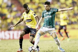 O Palmeiras saiu derrotado no primeiro confronto pelas oitavas de final da Copa Libertadores da América