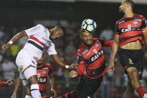 São Paulo e Atlético-GO apenas empataram no Morumbi