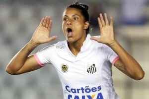 Sole Jaimes marcou o primeiro gol do Santos