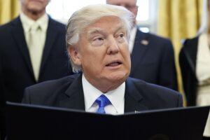 Trump criticou a pesquisa divulgada pela ABC News/Washington Post