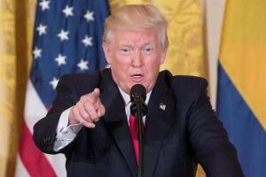 Donald Trump: aprovação caiu para 36% ao completar seis meses na Casa Branca
