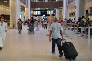 O aumento de 21,90% nas tarifas aéreas em setembro pressionou a inflação