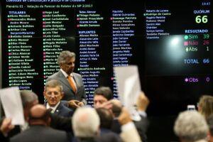 O parecer de Bonifácio de Andrada foi aprovado por 39 votos a 26, com uma abstenção