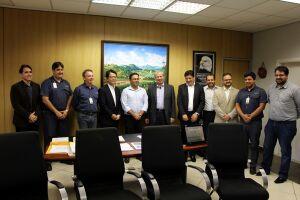 Visita ao prefeito Ademário Oliveira ocorreu na manhã desta sexta-feira (6)