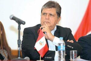 Alan García está sendo investigado como líder de uma organização criminosa de lavagem de dinheiro