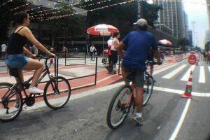 O ciclista que for flagrado pilotando uma bicicleta em local proibido ou guiar de forma agressiva a bicicleta será multado