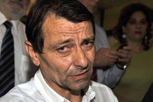 Cesare Battisti foi detido ontem pela Polícia Federal perto da fronteira com a Bolívia