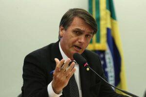 Bolsonaro disse ter cometido um ato falho
