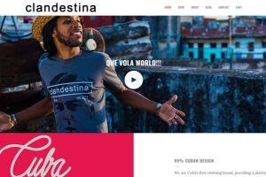 O site da Clandestina é hospedado nos EUA