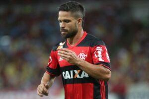 Diego vive momento difícil pelo Flamengo