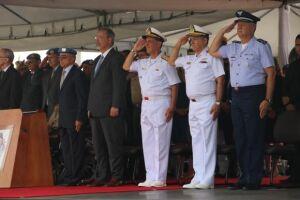 Jungmann participou da solenidade que marcou o fim das operações do Brasil na Missão das Nações Unidas para Estabilização do Haiti