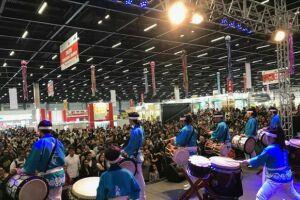 Grupo Kiendaiko Taiko, de São Bernardo, é uma das atrações do evento
